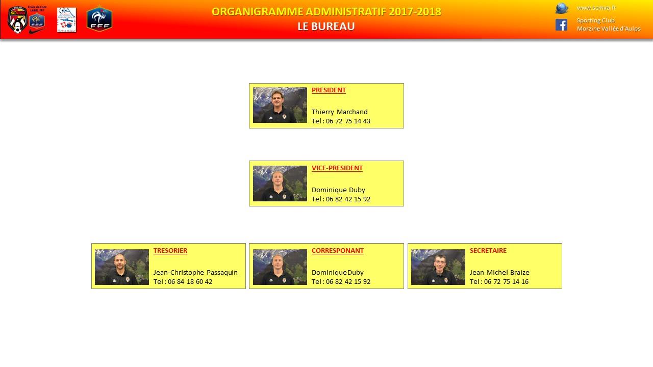 organigramme-bureau 2017-2018 page1