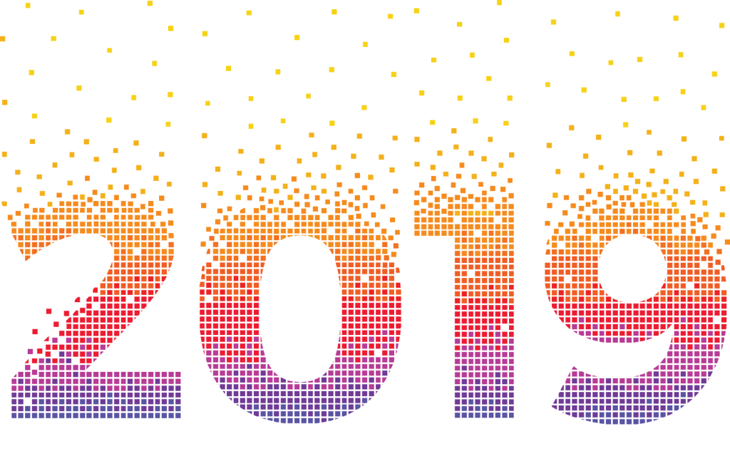 Nous vous souhaitons une très belle année 2019 !