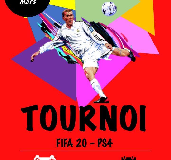 Le premier tournoi FIFA en ligne du SCMVA !